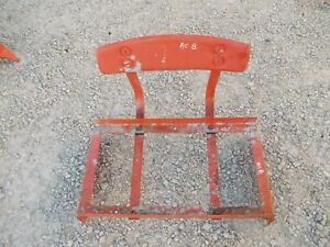 Allis Chalmers B Tractor Original Ac Deluxe Seat Assembly Back Rest B