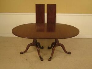 Lf42755 Henkel Harris Solid Mahogany Dining Room Table