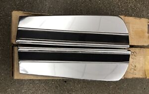 1973 77 Monte Carlo Pair Front Fender Moldings New Gm Nos 6260523 6260524
