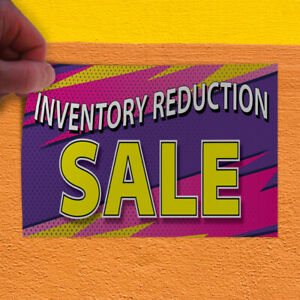 Decal Sticker Inventory Reduction Sale Business Style U Business Store Sign
