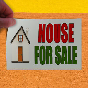 Decal Sticker House For Sale Real Estate Business House For Sale Store Sign