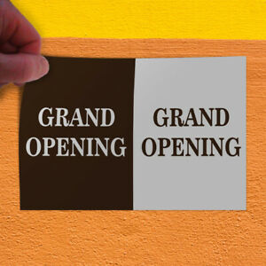 Decal Sticker Grand Opening Gran Opening Business Grand Opening Store Sign