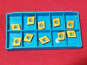 Cde322r02 Carbide Inserts Qty 15