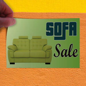 Decal Sticker Sofa Sale 1 Business Sale Outdoor Store Sign Green