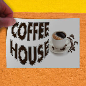 Decal Sticker Coffee House Restaurant Cafe Bar Restaurant Food Store Sign