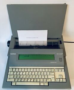 Brother Wp 760d Electronic Word Processor Typewriter Grammar Spell Check Tested