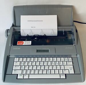 Brother Sx 4000 Electronic Typewriter Fully Tested In Excellent Condition
