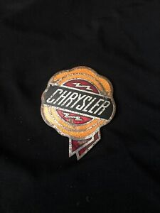 Vintage Old Chrysler Hood Ornament Budge Emblem