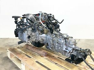 1991 2001 Subaru Impreza Gf1 Engine 5 Speed Manual Transmission 1 5l Jdm Ej15