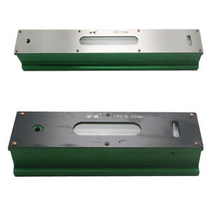 2pc Professional Precision Bar Level For Engineer Machinist 0 02mm 150