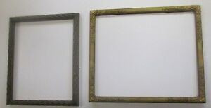 Pair Of Vintage Antique Frames From Store Closing In 2018 Many Lots To Follow