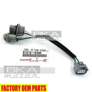 97 98 Toyota Supra Front Turn Signal Lamp Harness 81515 14390