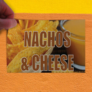 Decal Sticker Nachos Cheese 1 Style A Restaurant Food Outdoor Store Sign