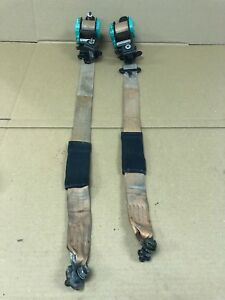 1994 1997 Mazda Miata Seatbelt Seat Belt Set Tan