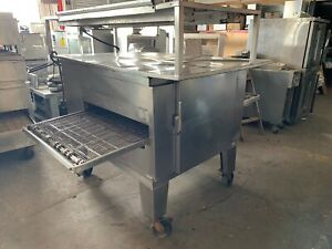 Lincoln 1450 78 Impinger Conveyor Oven Ng With Upper Shelf And Heat Strip