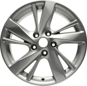 Aluminum Alloy Wheel Rim 17 Inch Fits 13 15 Nissan Altima 10 Spokes 5 115mm New