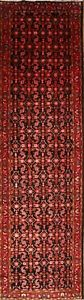Excellent Palace Sized 4x14 Wool Persian Malayer Hamedan Oriental Runner Rug