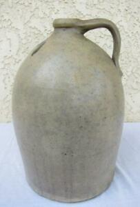 Rare Primitive Bee Sting Stoneware Salt Glazed Crock Jug Red Wing 3 Gallon