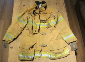 Lion Janesville Firefighter Fireman Turnout Gear Jacket Size 44 35 r b pp1
