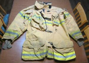 Lion Janesville Firefighter Fireman Turnout Gear Jacket Size 46 35 r c p1