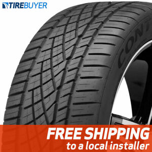 1 New 245 40zr17 91w Continental Extremecontact Dws06 245 40 17 Tire