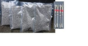 Ss Tire Balancing Beads 4x5oz Bags 20 Oz Total 4 Valve Cores desiccant Silic