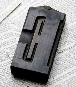 Letter Superb Wood Type 4 92 Woodtype Font Letterpress Printing Block Abc