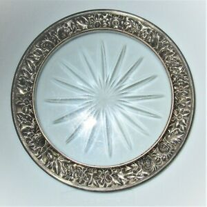 S Kirk Son Repousse Sterling Silver Wine Coaster 23