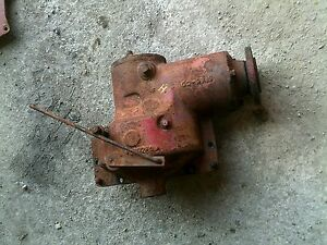Farmall H Early Sh Hv Tractor Ih Ihc Belt Pulley Drive Assembly W Engagement Rod
