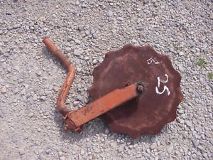 Allis Chalmers Ac Plow 15 Rolling Cutter Wheel Disc Disk Mounting Brace Bracket