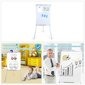 Dry Erase Board 24 X 36 Magnetic W Stand Adjustable Height Whiteboard Easel New