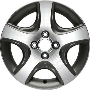 Aluminum Alloy Wheel Rim 15 Inch Fits 2004 2005 Honda Civic 4 101 6mm 5 Spokes