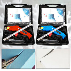 250w Pro Electric Hot Knife Styrofoam Foam Cutter Tool With Blade carrying Case