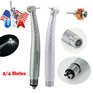 Us 2 4 Holes Fit Nsk Turbine Dental Low High Speed Handpiece Kit Push Button Box