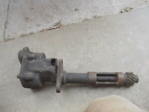 Farmall M Diesel Tractor Ih Md Engine Motor Oil Pump Assembly