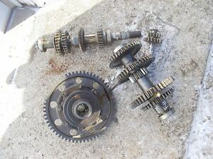 Farmall F12 Tractor Ih Transmission Matched Set Top Bottom Gears Shafts