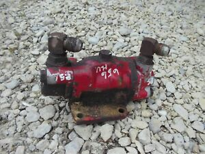 Farmall Ihc 656 Rc High Utility Tractor Ih Power Steering Assist Flow Valve