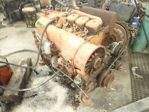 Deutz F4l912 Diesel Engine Runs Mint Video Vermeer Ditch Witch Pump
