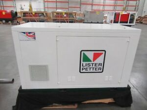 Lister Petter Ups System With 12 Power Safe Sbs 190f Batteries