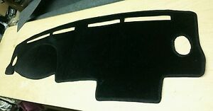 1996 1997 1998 1999 2000 Honda Civic Dash Cover Black Velour