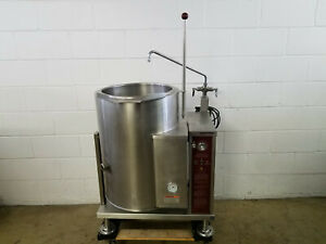 Southbend Gc 12 12 Gallon Manual Tilt Jacketed Kettle Nat Gas 115 Volts Tested