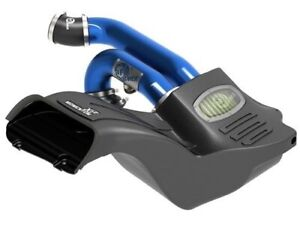 Afe 75 73120 L Cold Air Intake System W Blue Tubing Ford F 150 17 18 3 5l