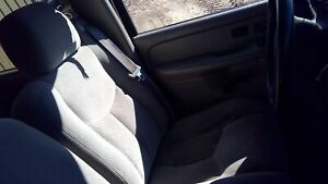 2003 2006 Chevy Avalanche Driver Lh Gray Cloth Electric Bucket Seat