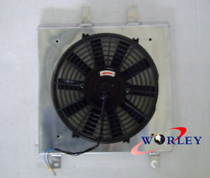 Aluminum Shroud Fan For 1992 2000 Honda Civic Ek Eg D15 D16 B16 B18