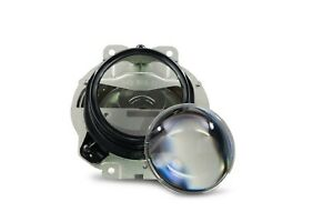 2 5 Black Series Clear Projector Lenses Hid Retrofit Lens Swap Xenon