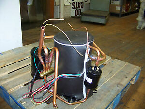 Emerson Copeland Scroll Compressor 208 230 V 1 Phase 60 Hz 410a Zp14k6e pfv 130