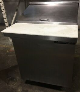 Continental Refrigerator Sw27 12m Mighty Top Sandwich Unit 27 Wide
