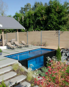 20 Shipping Container Pool hot Tub By Universal Container Homes