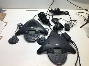 Cisco Cp 7935 7936 Voip Conference Station Phone W Power Kit Triangle Speak