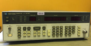 Hp Agilent 8656a 0 1 To 990 Mhz Hpib Synthesized Signal Generator Tested